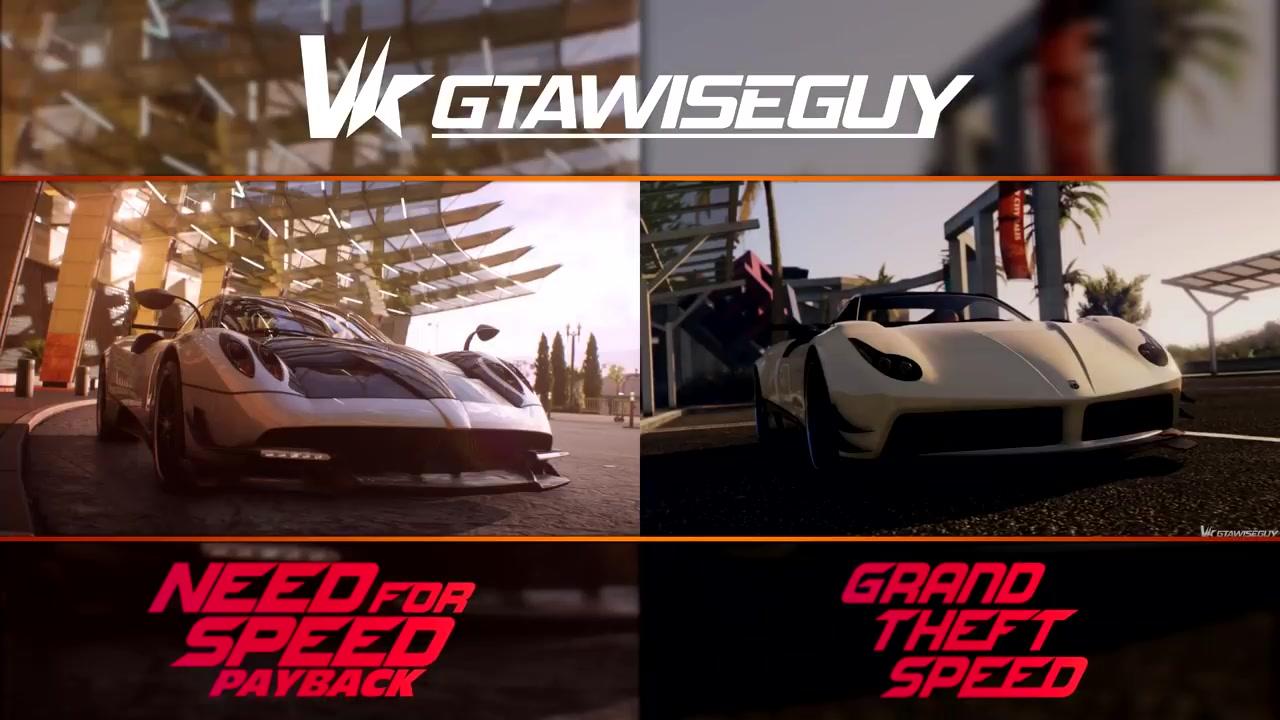 gta5 vs 极品飞车图片