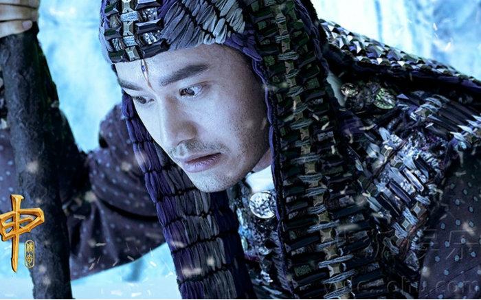 电影《封神传奇》黄晓明预告海报双发 杨戬英姿勃发开天眼