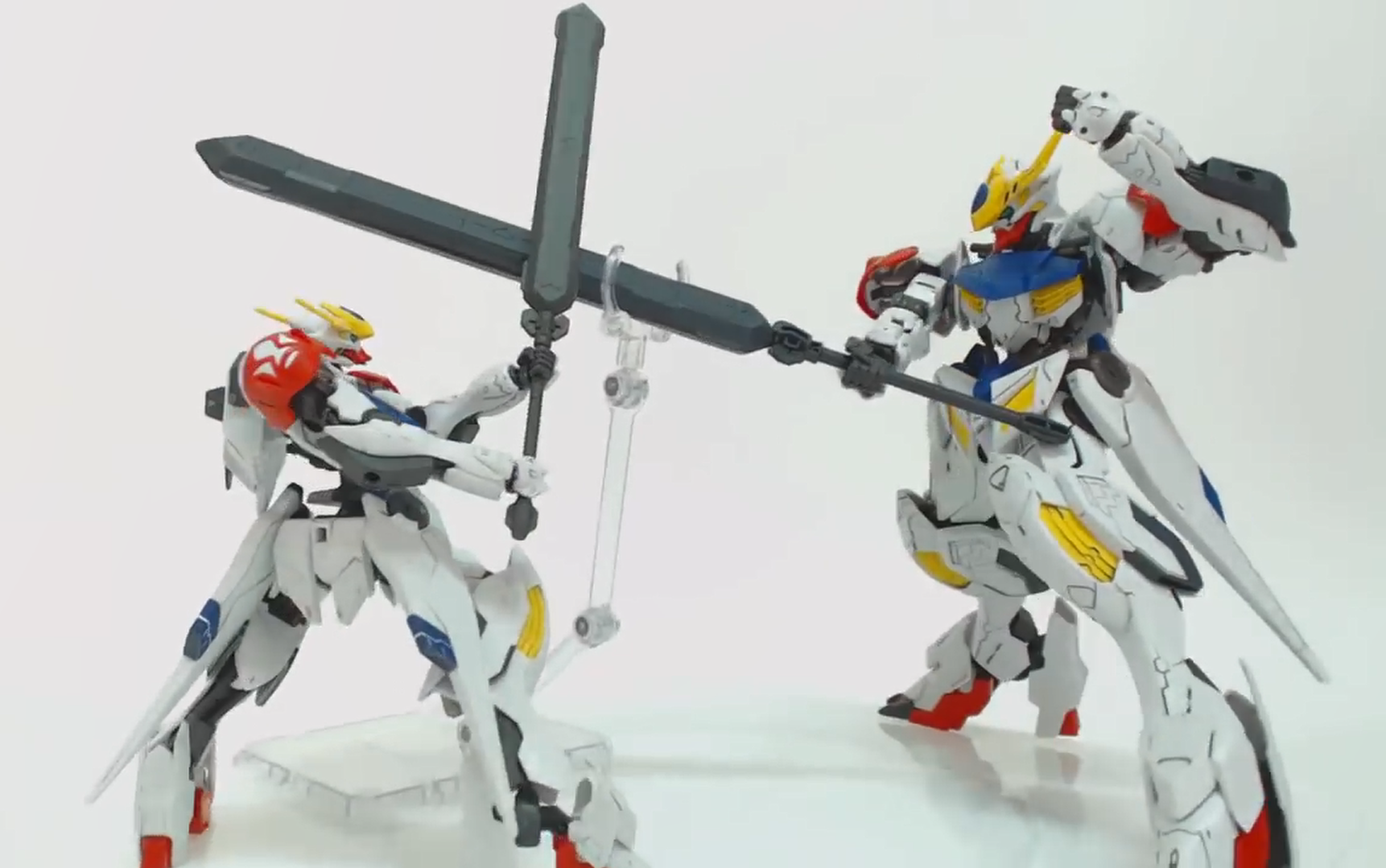 【模型速组】1-100 巴巴托斯 天狼座 天狼型 GUNDAM BARBATOS LUPUS 『铁血的奥尔芬斯』 BUILDERs TV(纯搬运)