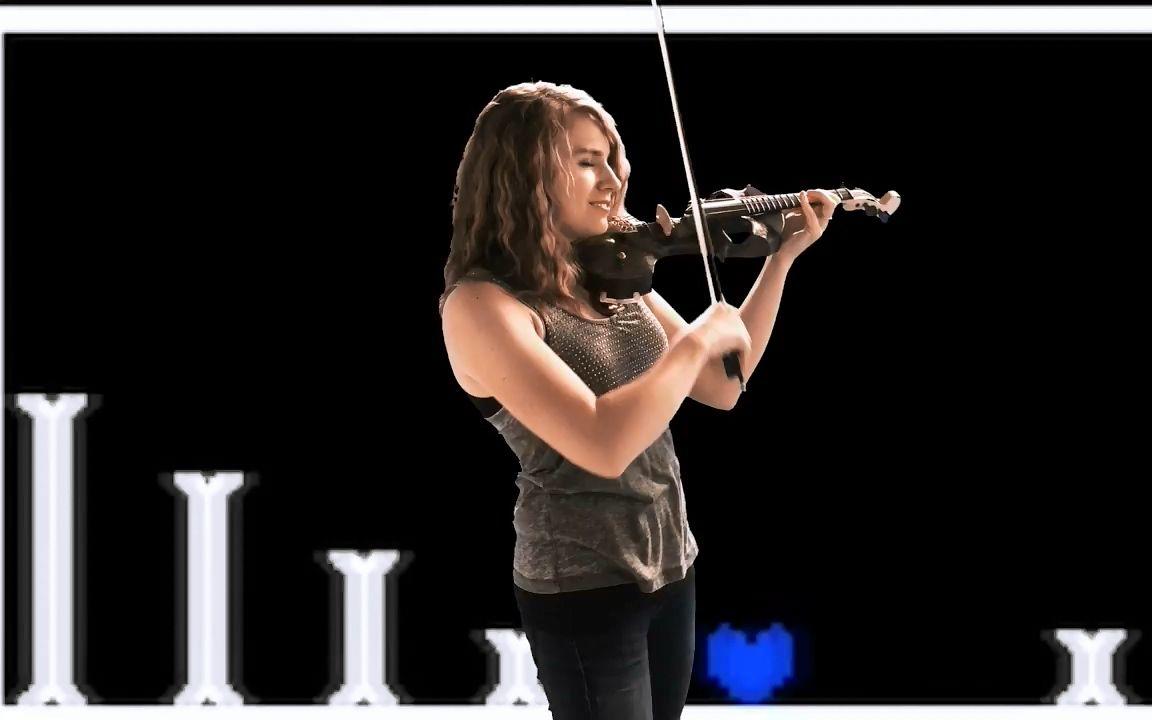 美女小提琴家 taylor davis激情演奏undertale图片