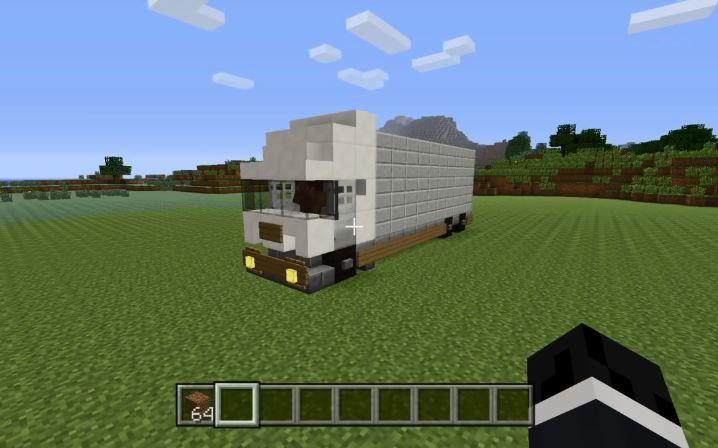 我的世界日本玩家制作货车