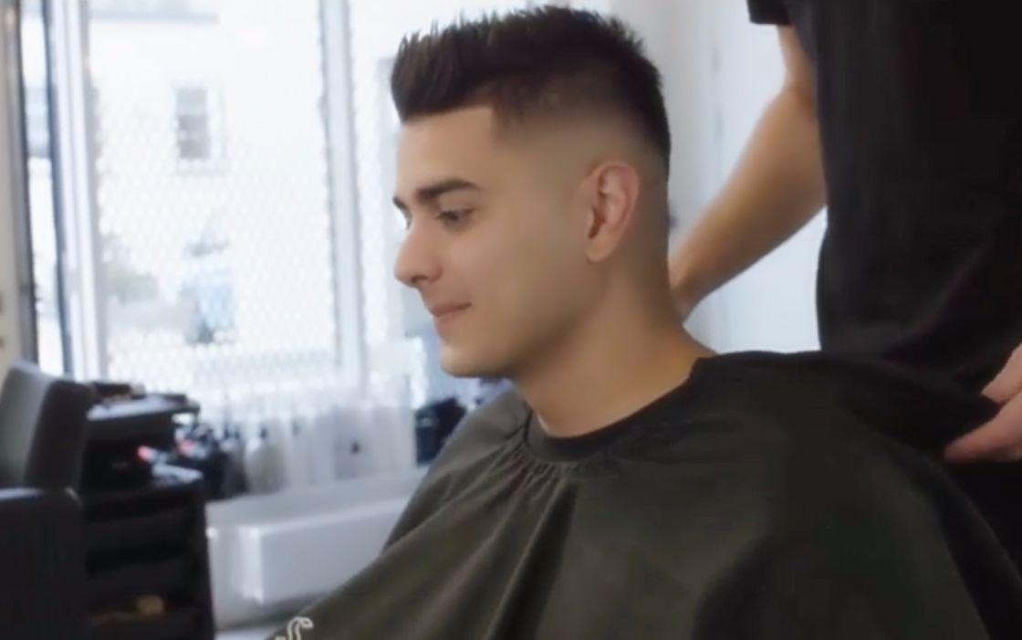 圆脸男生的发型有救了!2018男士短发设计,剪完帅气十足!图片