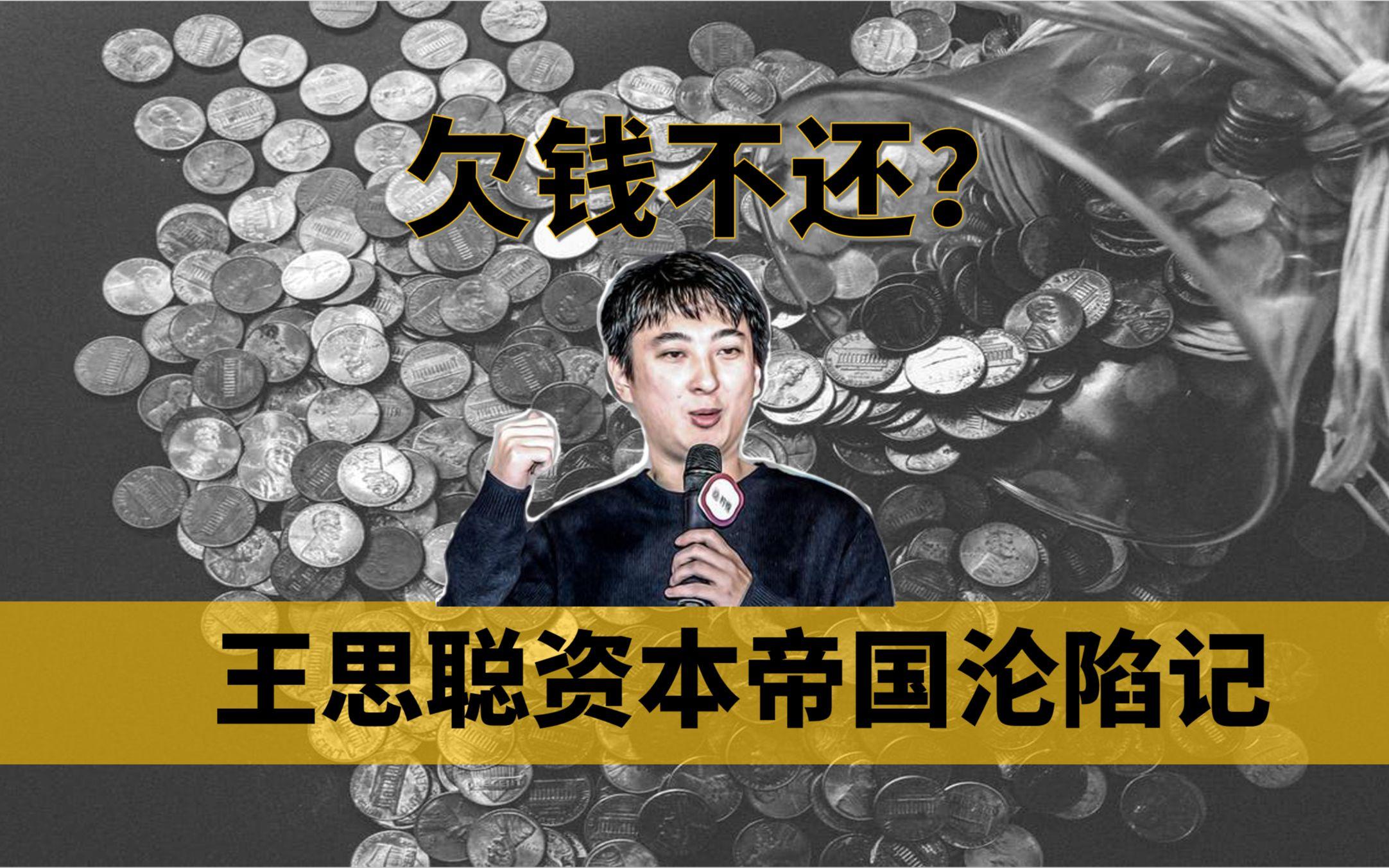 【中国商业史01】欠债不是1.5亿而是20亿,王思聪濒临破产其实另有隐情,揭秘国民老公背后的资本故事——冲浪普拉斯出品