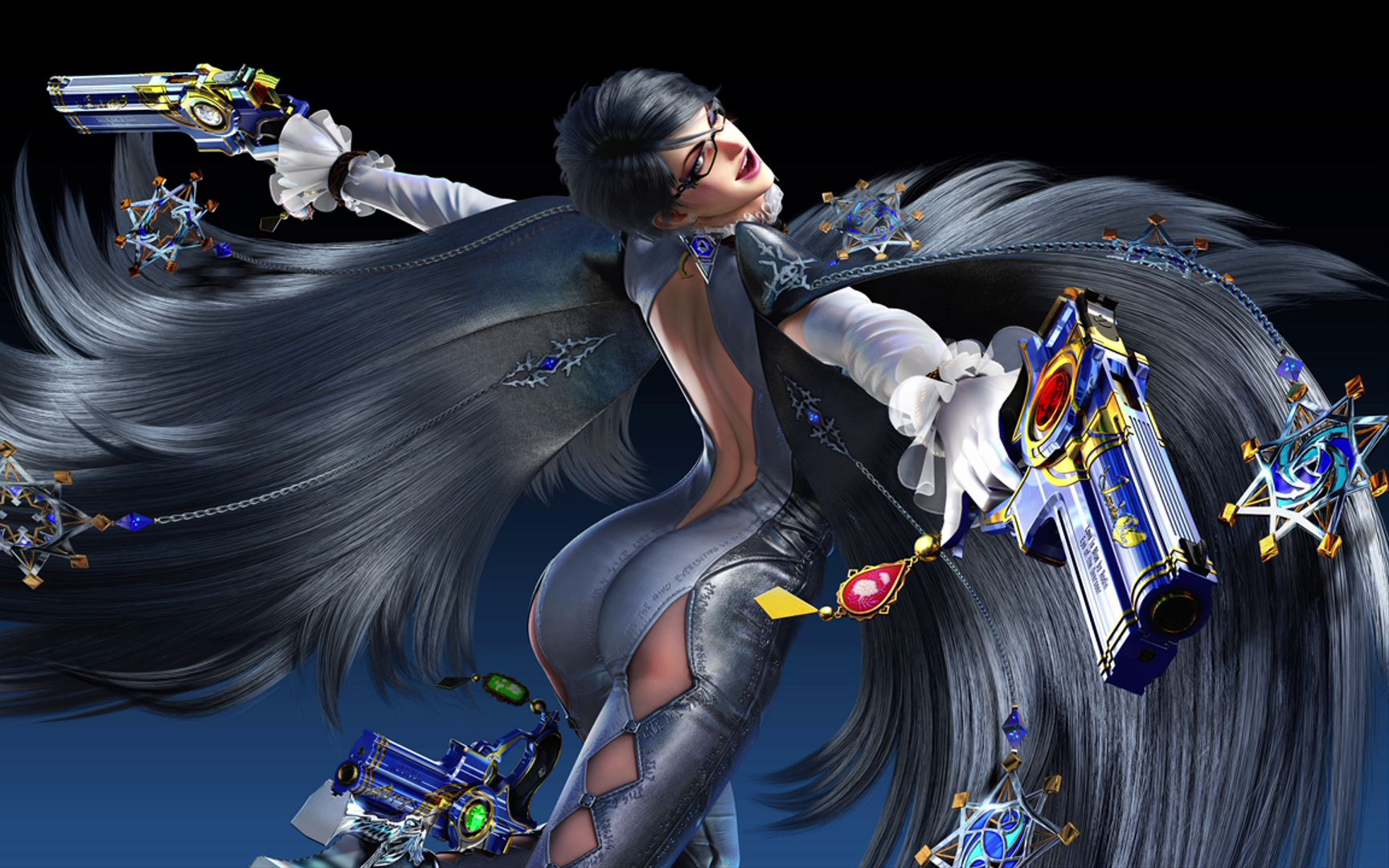 【madao游戏解说】猎天使魔女 pc版 hard难度 - 序章图片