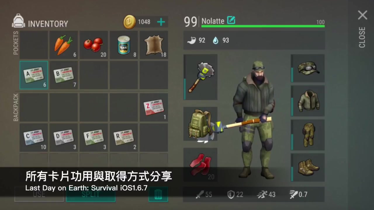 v=s1qfb59lz-e 原标题:last day on earth- survival #188 全卡片功能