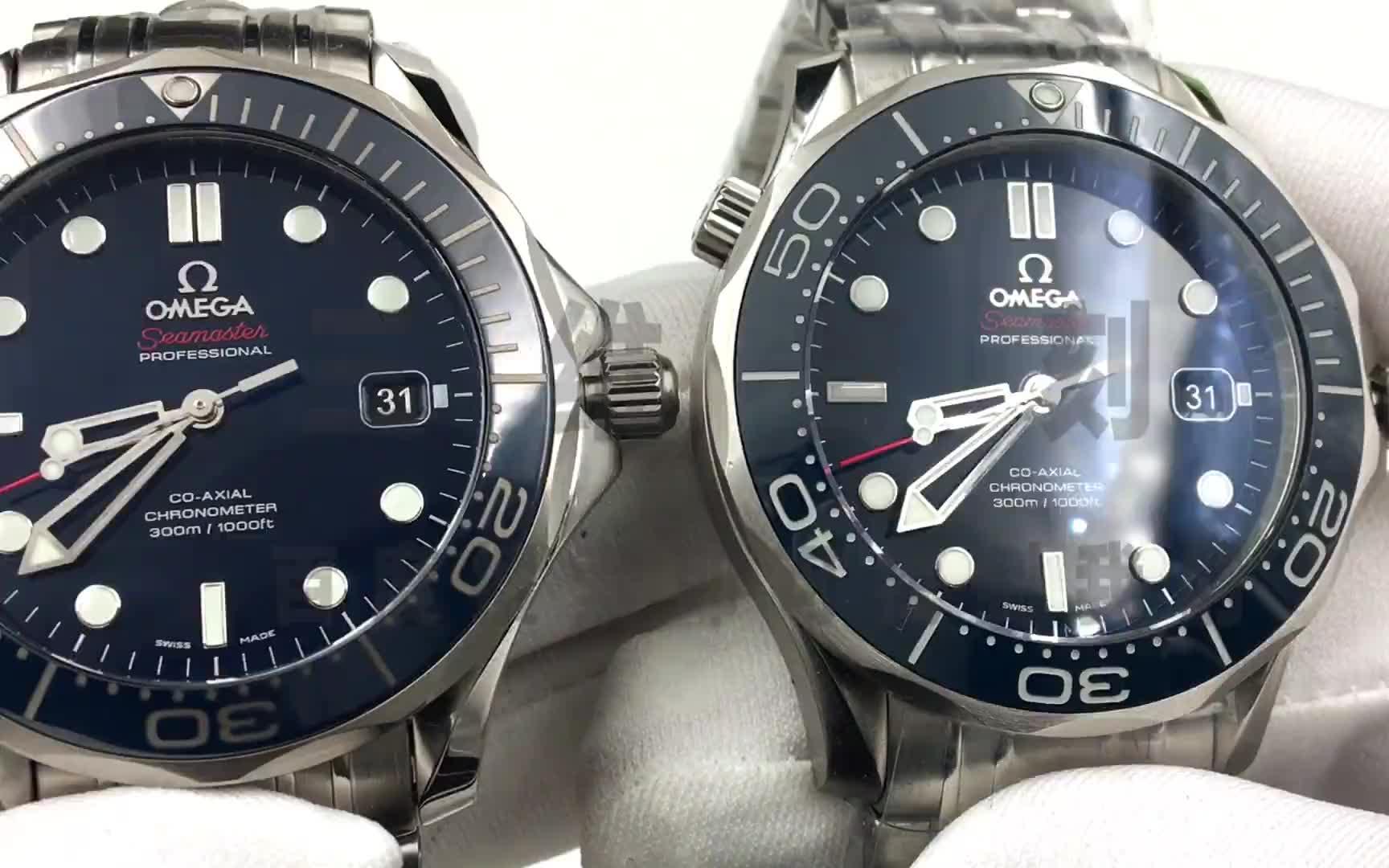 BP厂精仿顶级复刻海马海洋计时对比正品欧米茄海马系列212.30.41.20.03.001腕表-三维复刻
