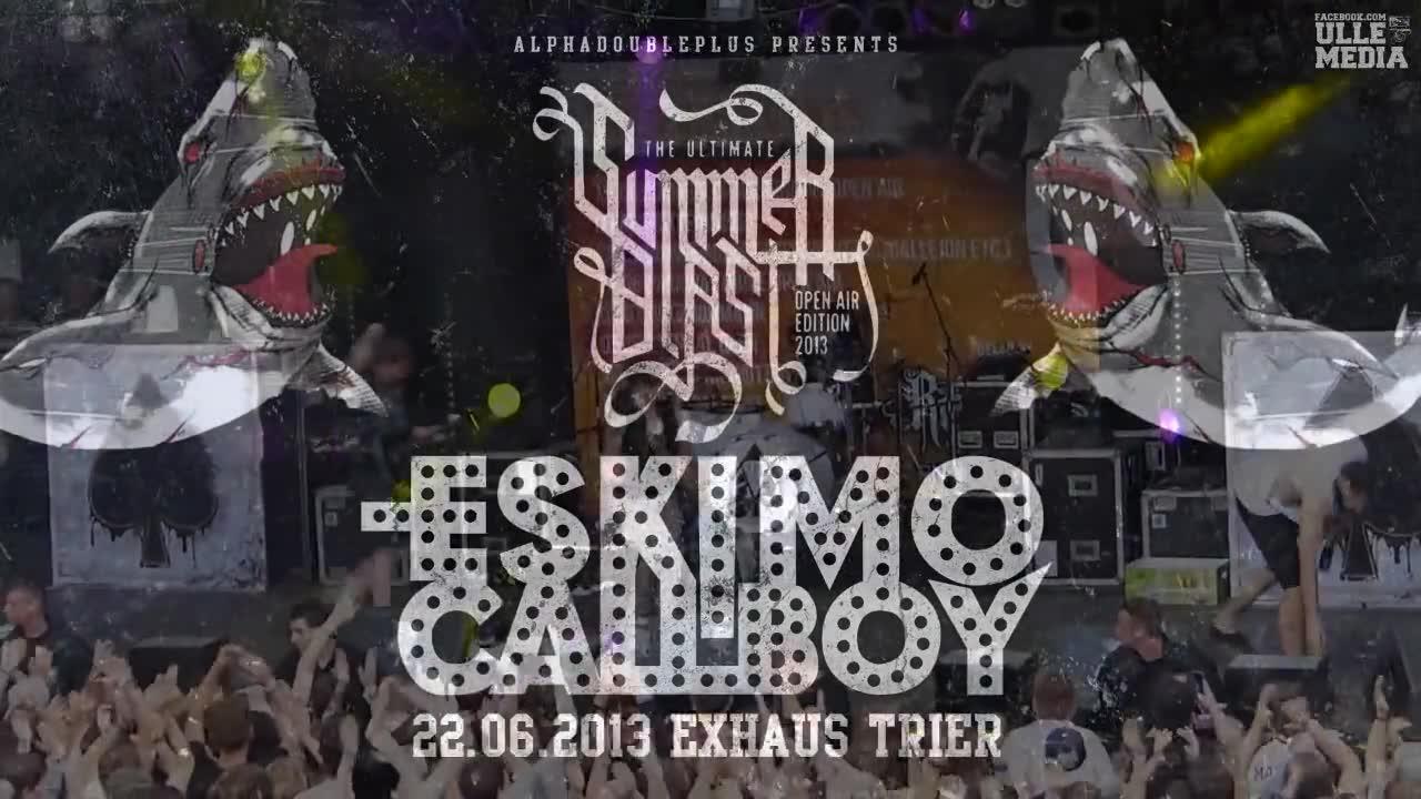 【德国电子核】Eskimo Callboy  Live at Summerblast 2013.6.22