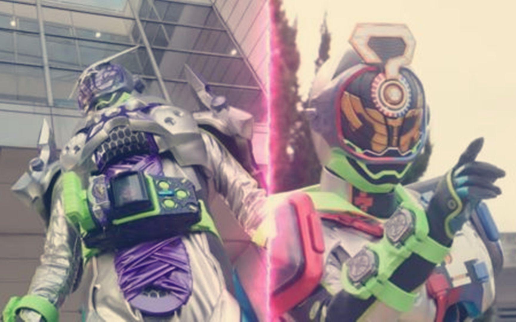 假面骑士zi-o第18话,woz抢表—Shinobi装甲变身