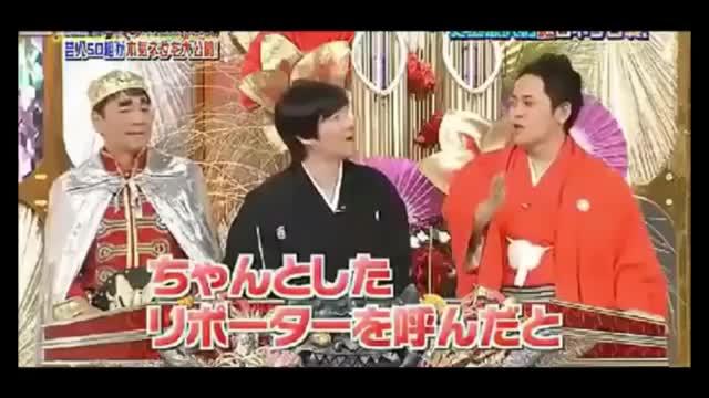 【お笑いDynamite!2011】リポーター有吉弘行cut