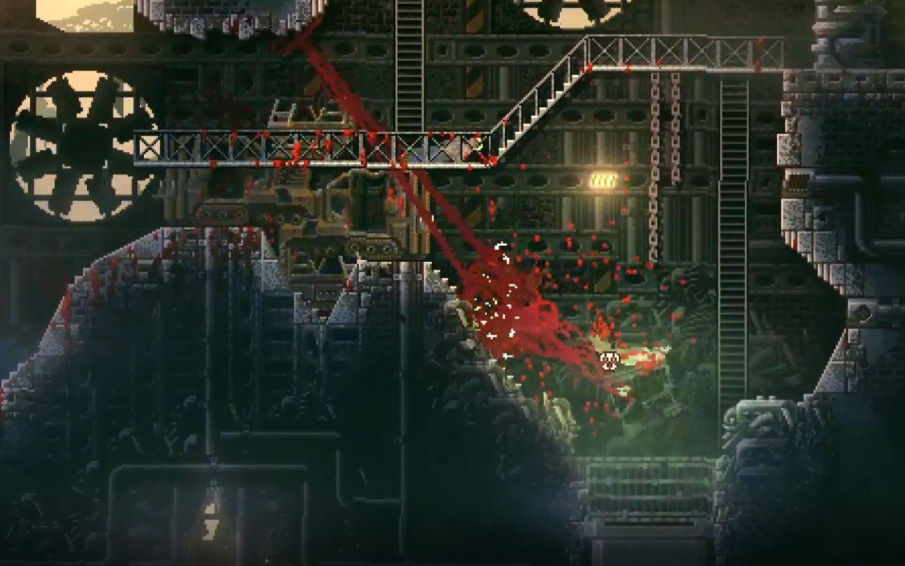 玩家变身嗜血怪物,疯狂厮杀人类--腐肉/carrion--游戏实况 #油管转载#