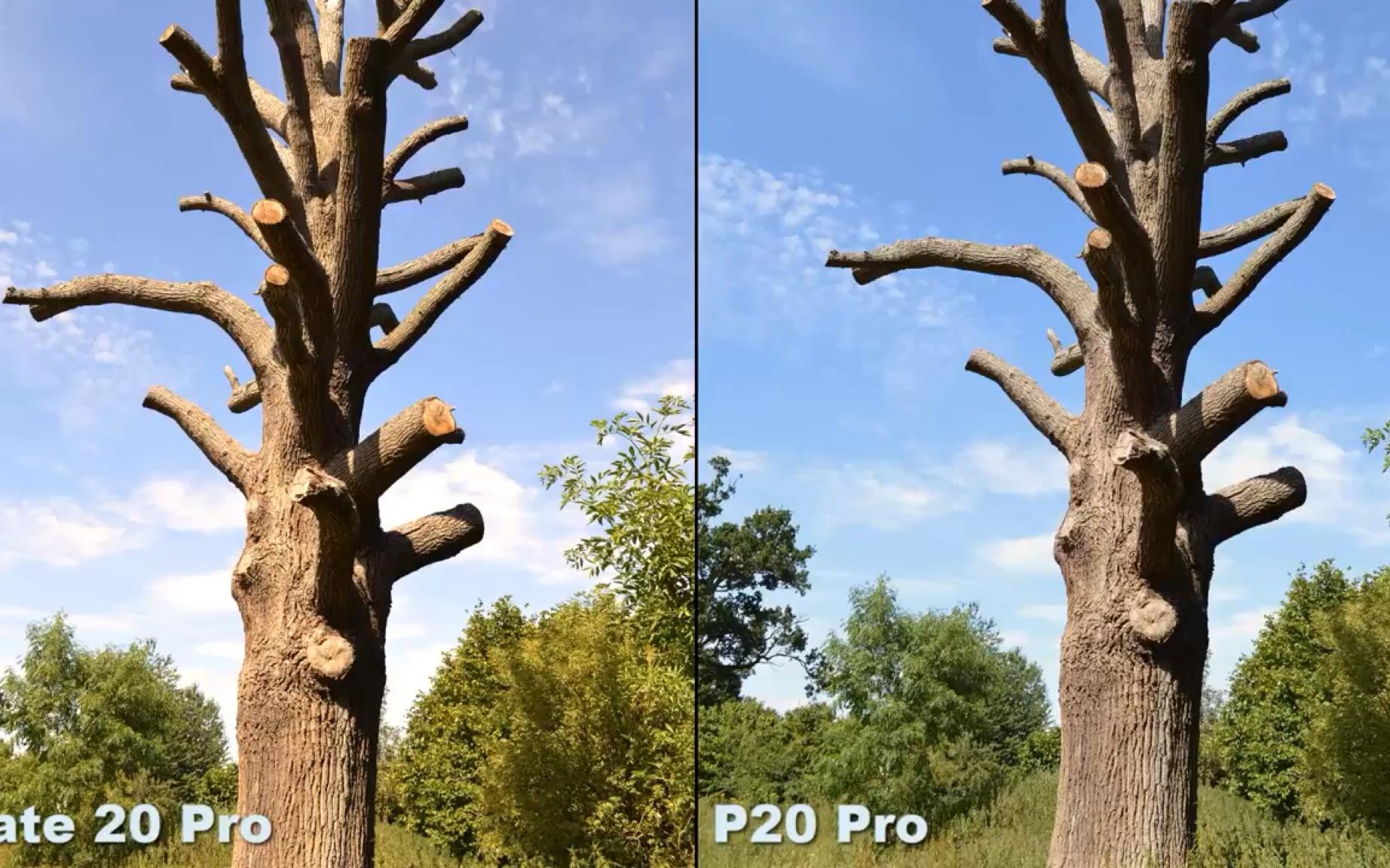 手心手背谁更强:华为 mate 20 pro vs 华为 p20 pro图片