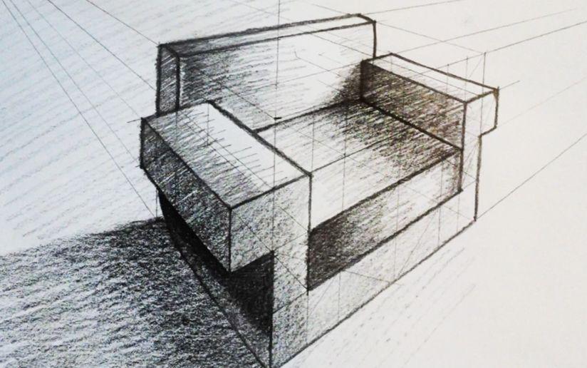只有学过画画的人才知道透视有多重要,不然连一把椅子图片