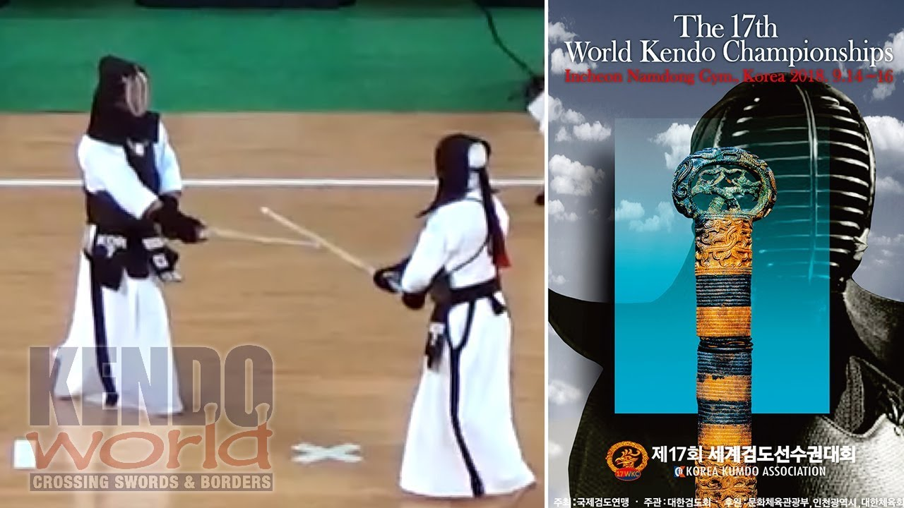 17WKC Men's Ind. SF: B. PARK (KOR) vs J. JO (KOR) - 17th World Kendo Championsh