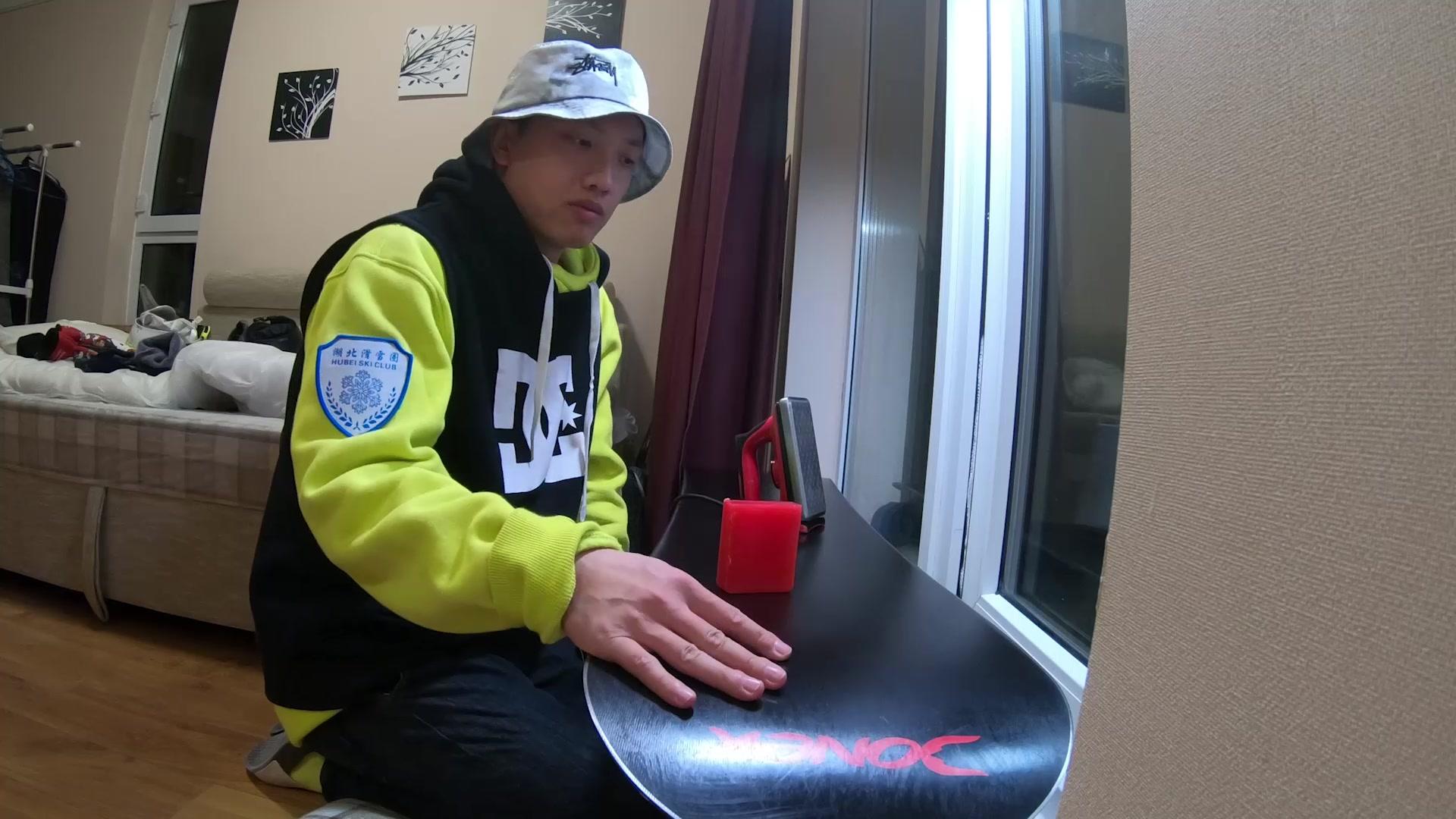 【夜洛VLOG 04】如何给自己心爱的滑雪板打蜡(日常维护)