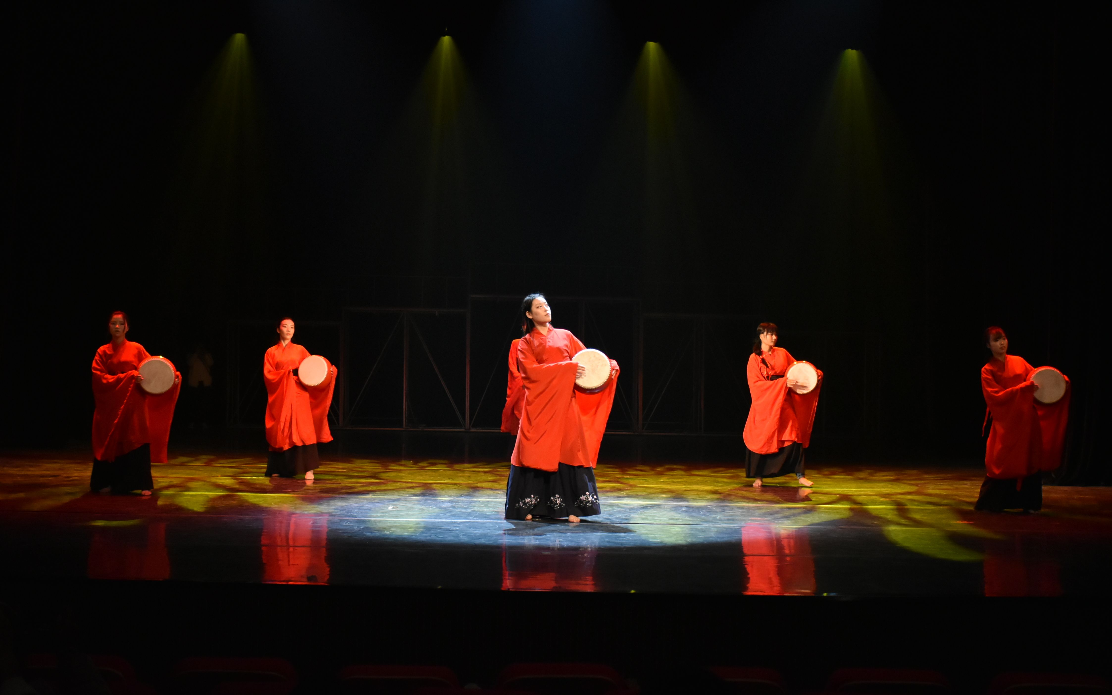【击鼓】【成都大学日映汉服社】四川歌舞剧院汉舞演出图片