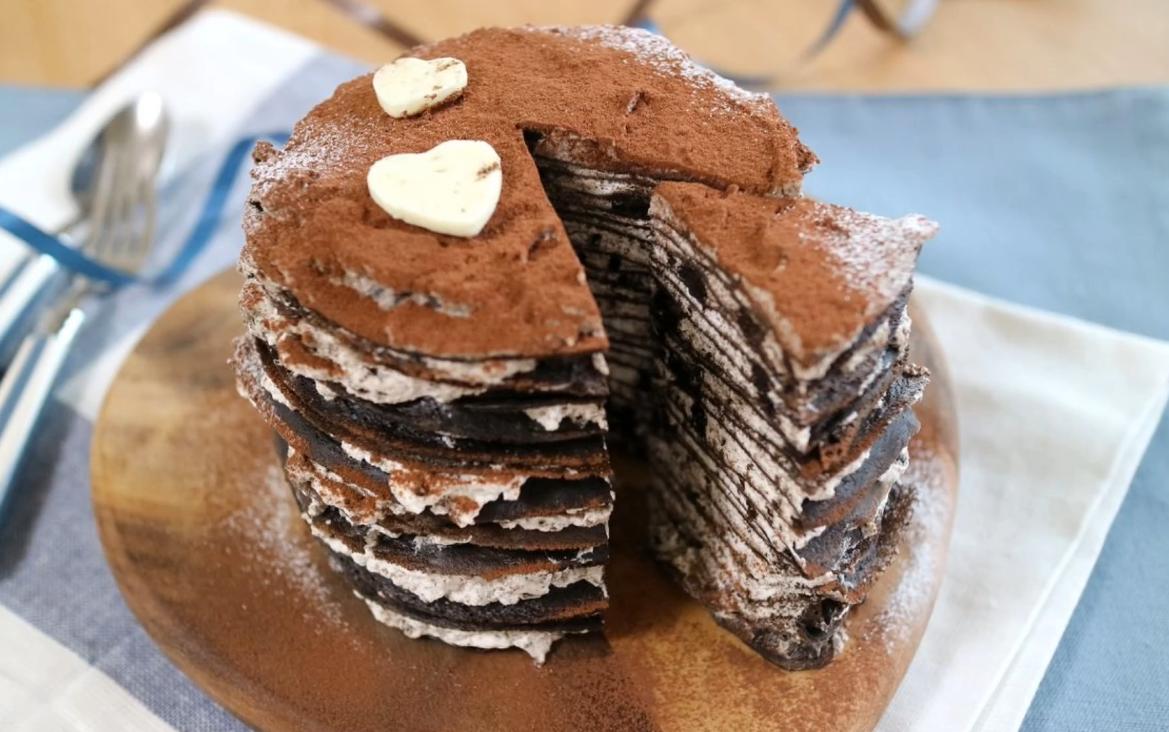 奥利奥千层蛋糕图片