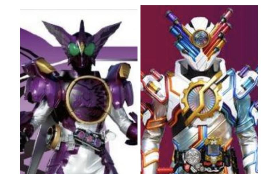拥有上百种形态,但却失去了最终形态的两位假面骑士(TV篇)