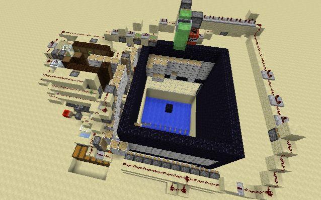[minecraft·我的世界·展示向]TNT高速树场(材料易获取)