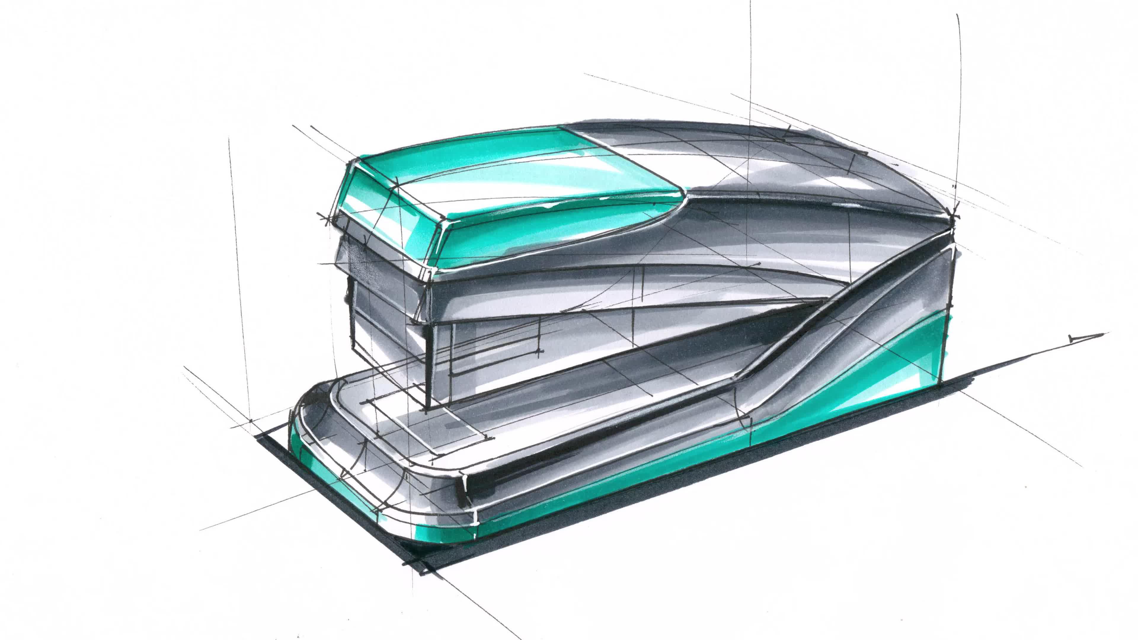 「远川绘工业设计考研」工业设计手绘-马克笔表达-产品设计手绘图片