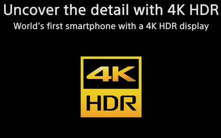 索尼xz premium全球首款4k hdr屏幕手机