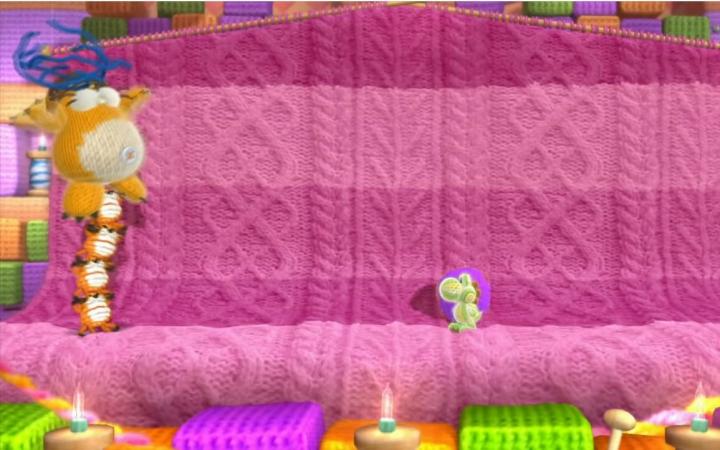 【库力呀解说】WiiU《毛线耀西》完美过关攻略解说World3(1)