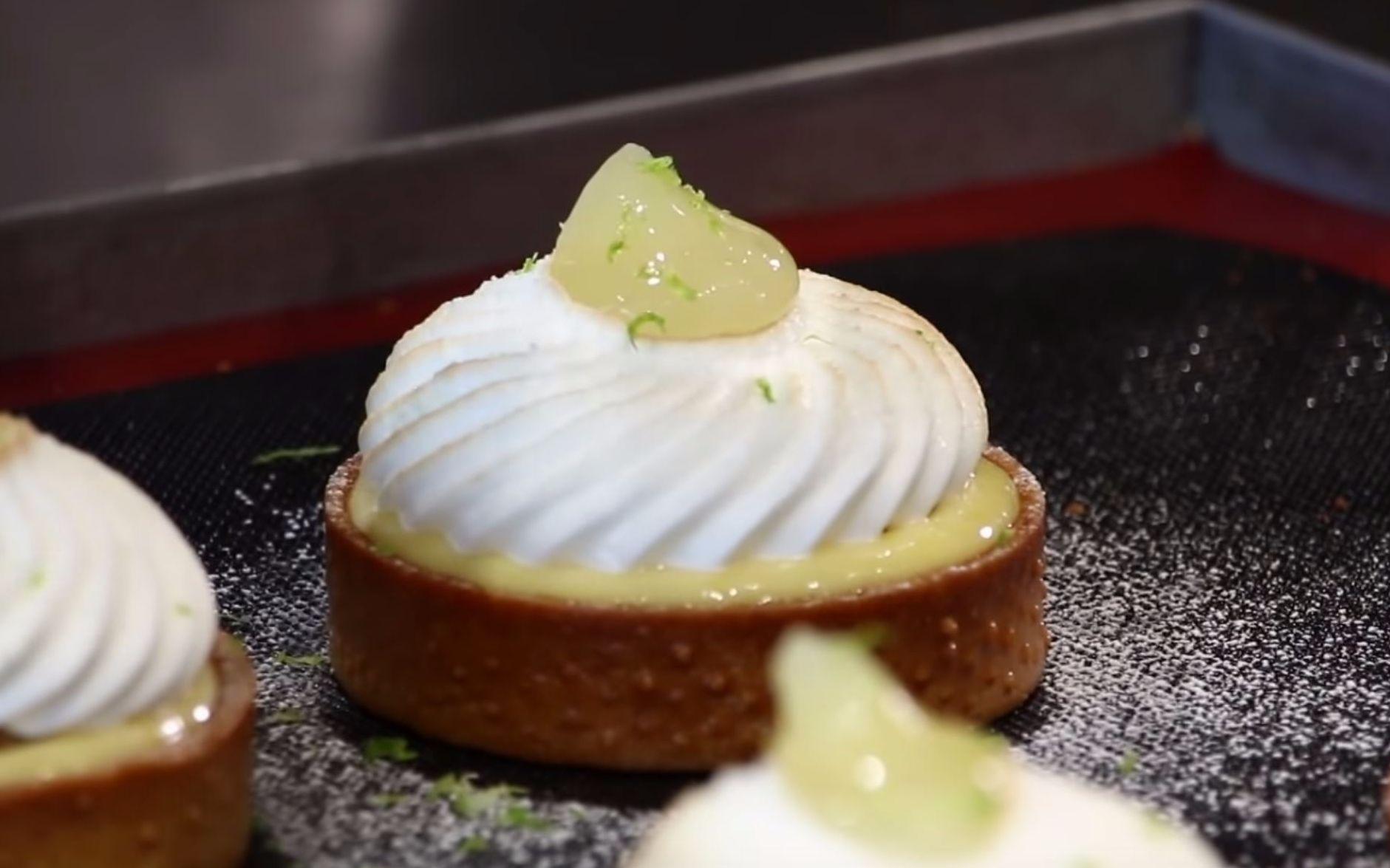 法国甜点大师MOF教你制作经典柠檬塔