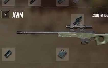 AWM真的是一个谁拿都能秀的枪啊~