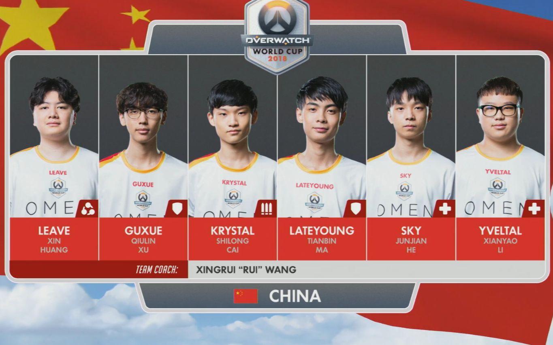 【守望先锋】2018世界杯中国队 精彩剪辑