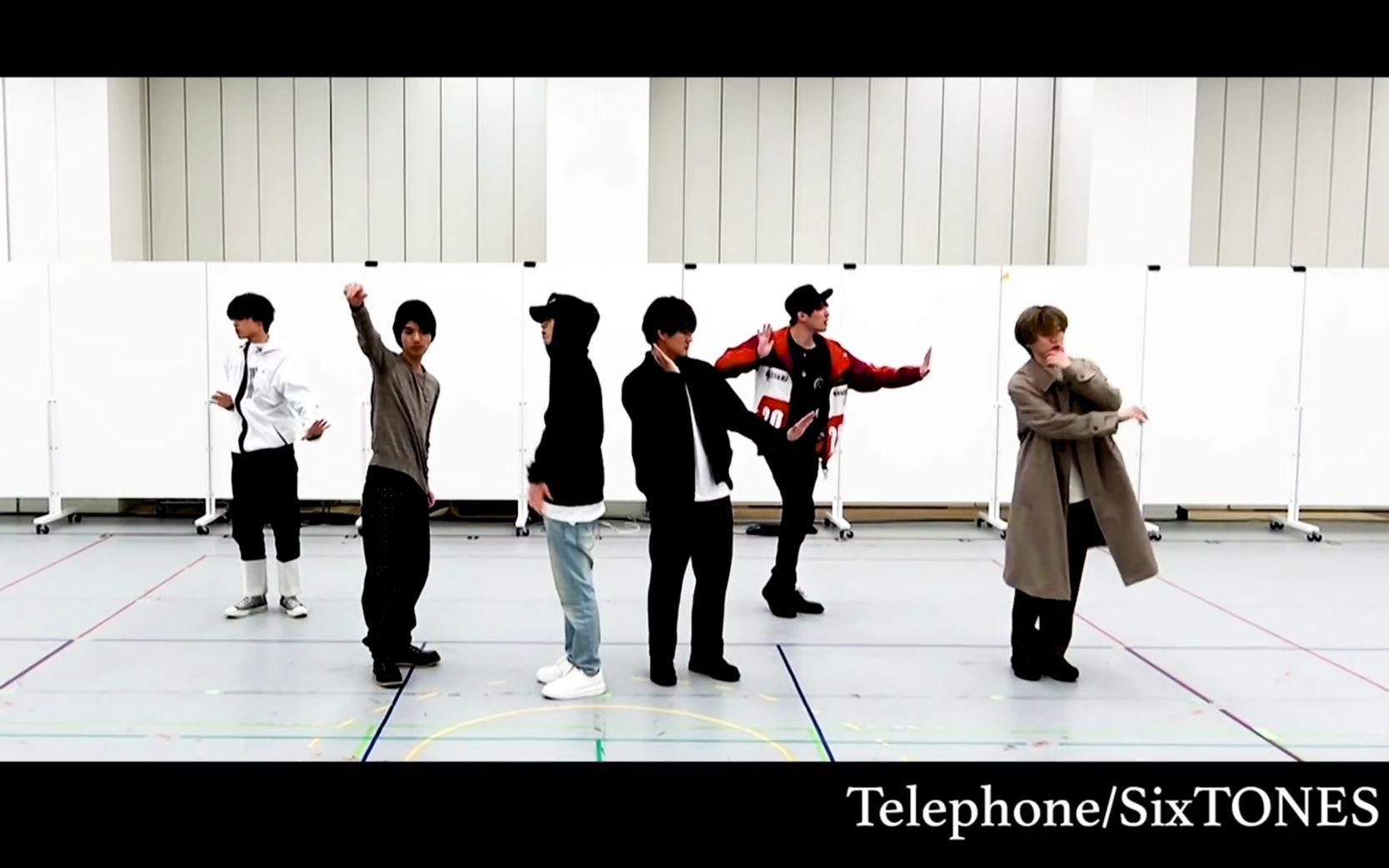 sixtones telephone