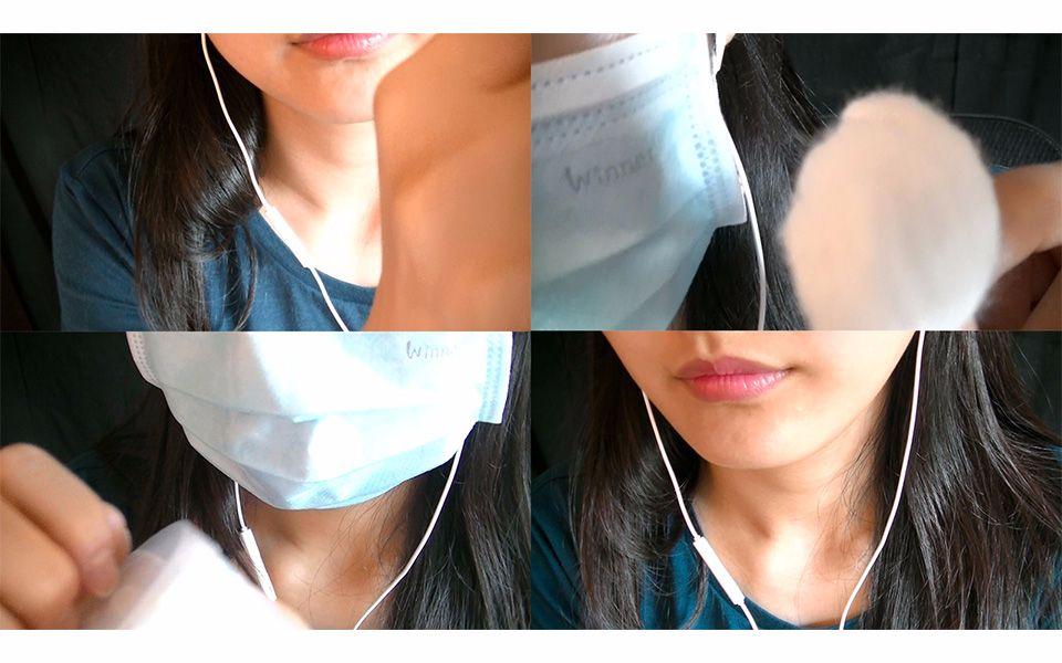 asmr|清洁棉球#2:耳朵,棉签,视频,crinkles|3d立体声耳语鱼黄鳝事件图片