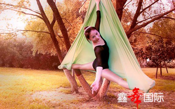空中瑜伽【风筝误】你见过这样的空中瑜伽吗?美美美!