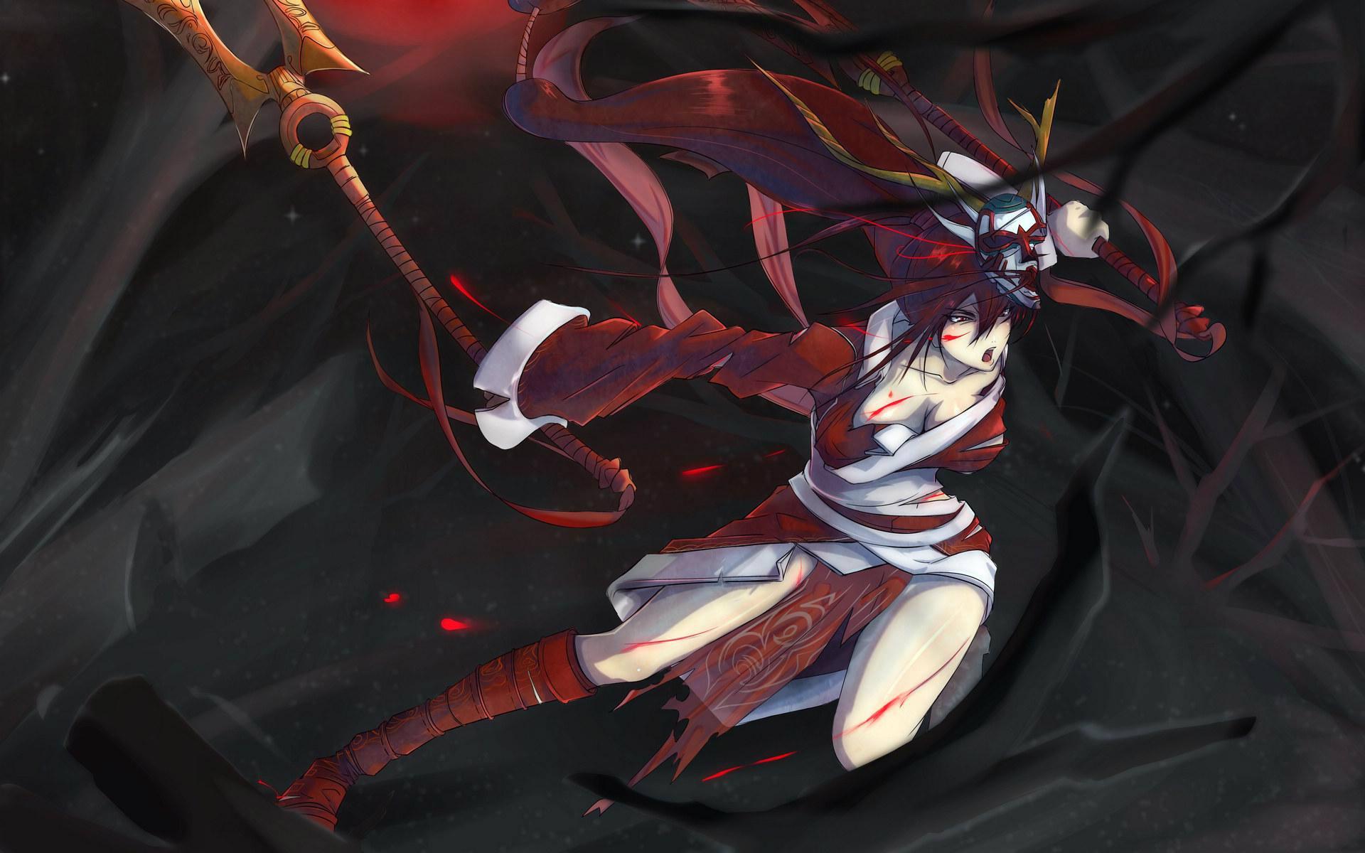 腥红之月鬼舞姬阿卡丽_Game234游戏网腥红之月鬼舞姬阿卡丽专...