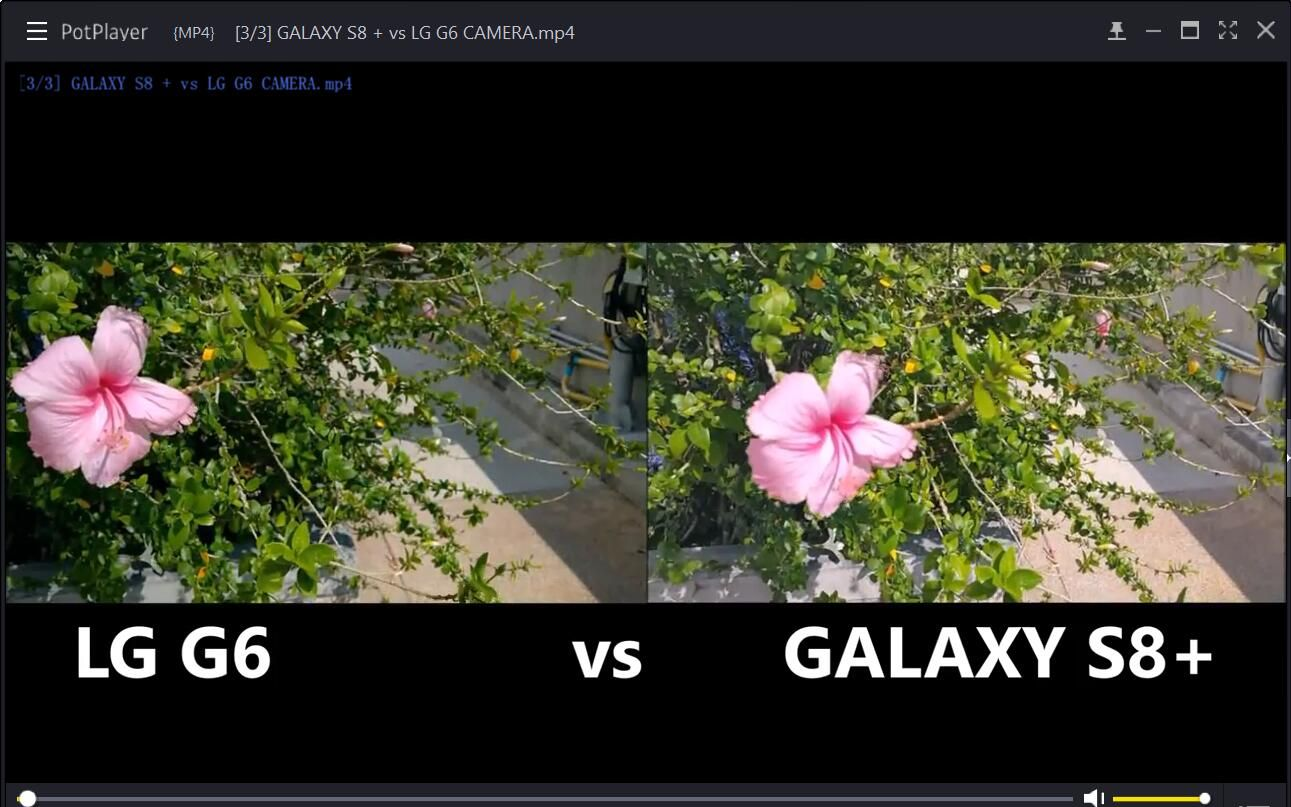 GALAXY S8 + vs LG G6 CAMERA