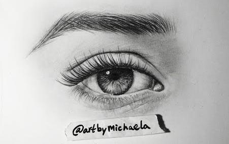 【绘画技巧】写实眼睛的画法(铅笔画)图片