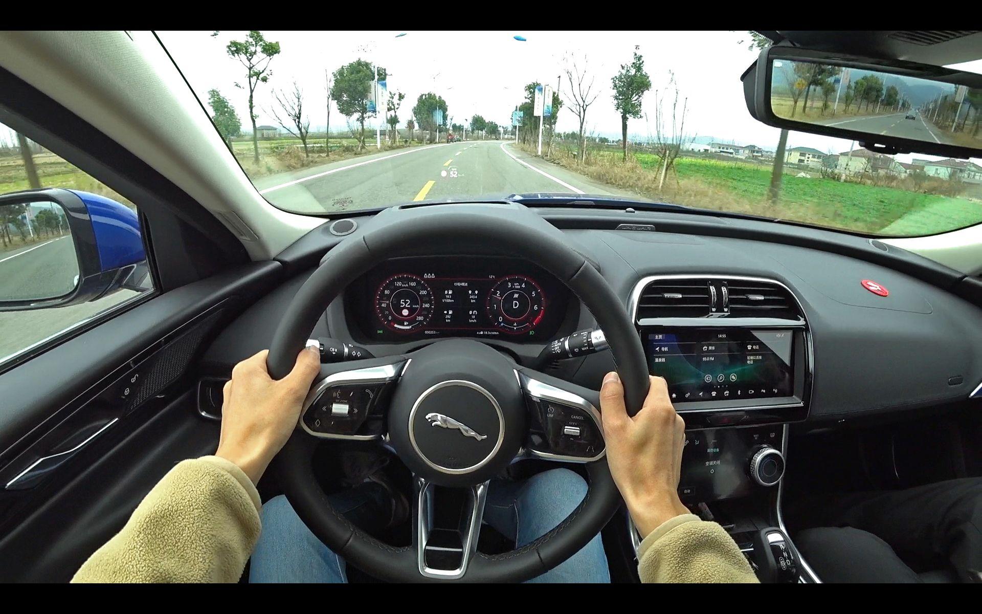 「第一视角」打七折的'小豹子'了解下? 试驾 中期改款 奇瑞-捷豹XEL 2.0T SE科技优雅版!