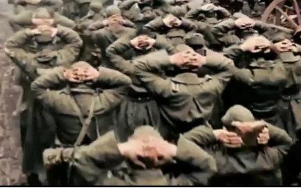 【二战真实镜头】沦为战俘
