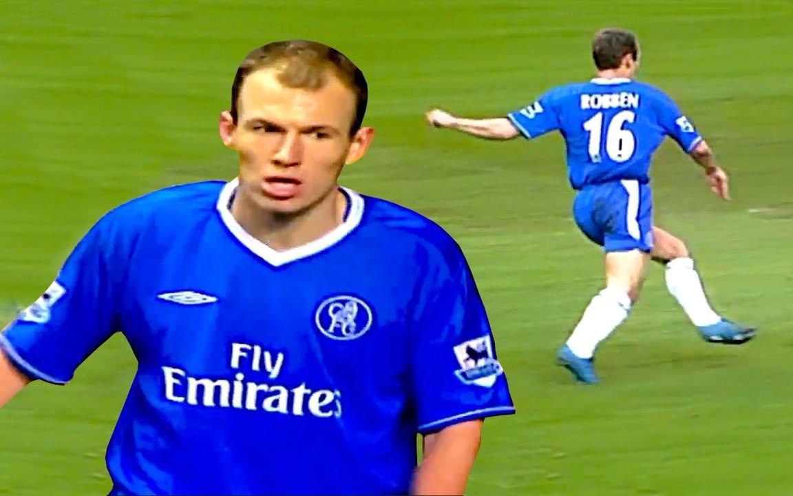 [个人集锦] 曾经的荷兰小飞侠! 看看阿尔扬o罗本 (Arjen Robben) 在切尔西边路的无解表现!