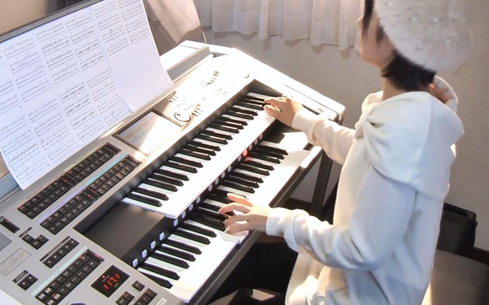 【双排键电子琴】岩内佐织图片