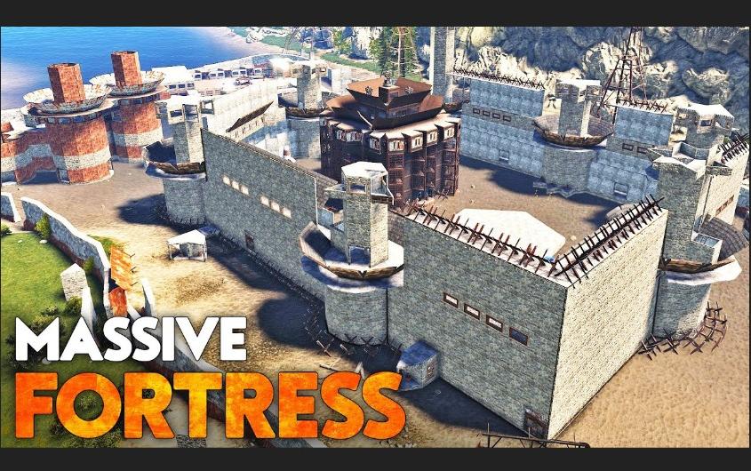 Rust - 罕见巨型要塞