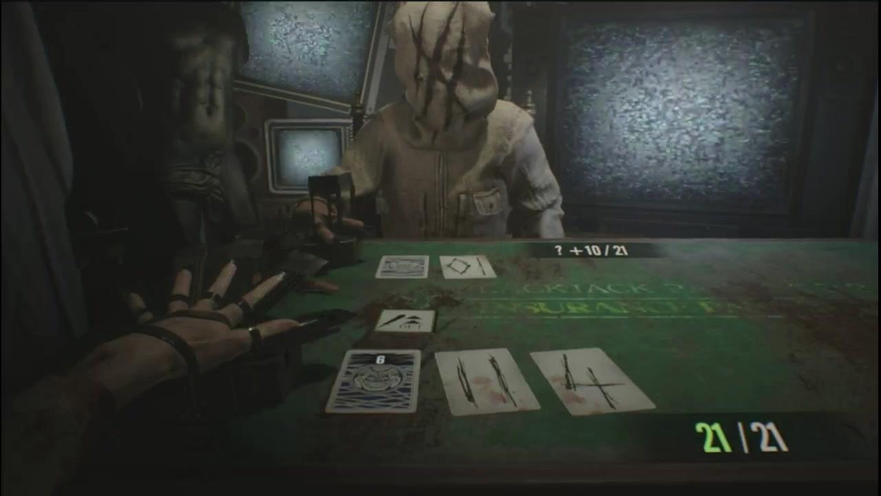 【楚河】生化危机21点扑克牌赌局 用大数据来猜底牌