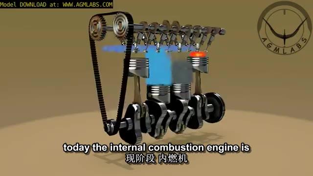 四冲程发动机是怎么工作的