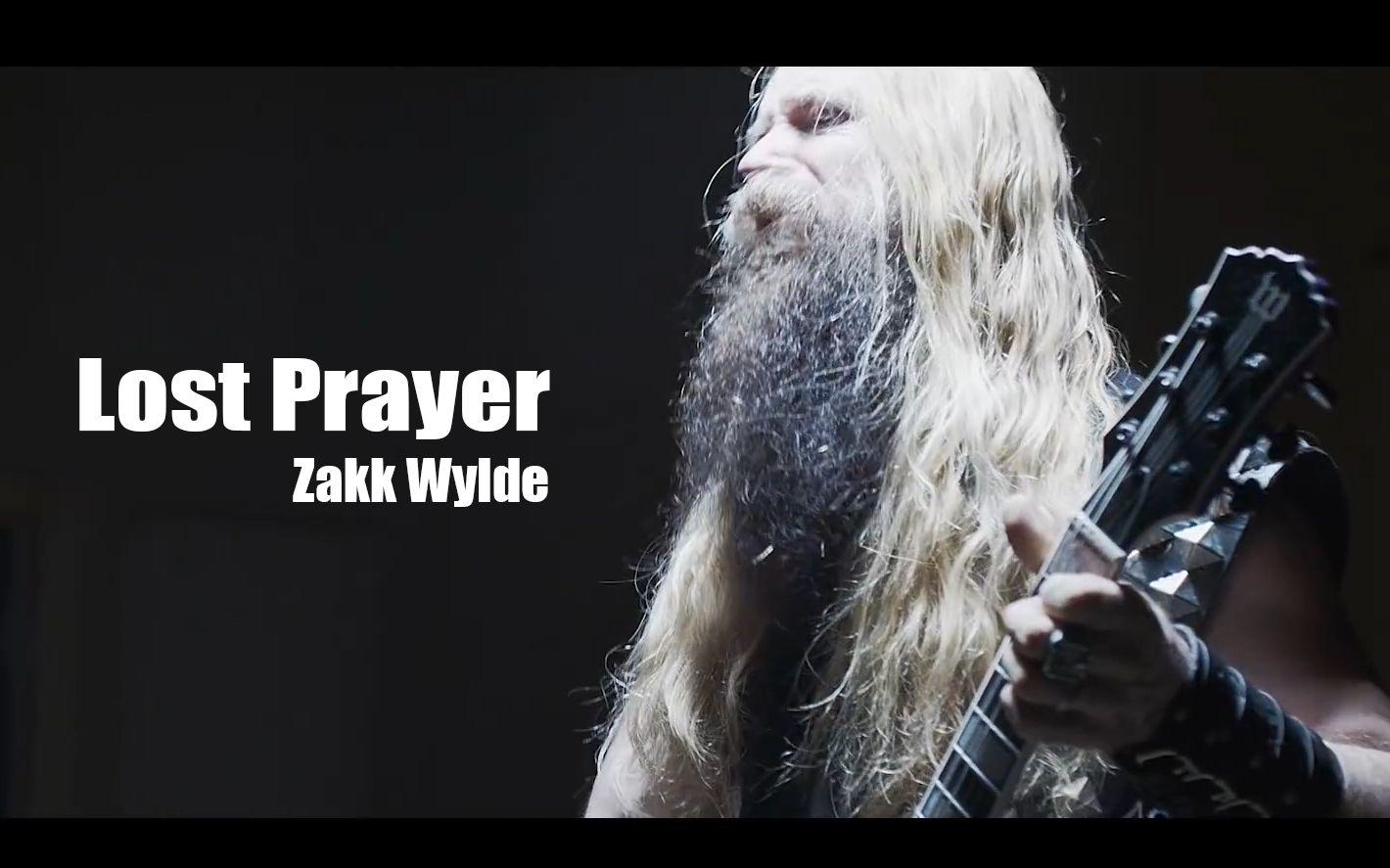 【中字/高清】zakk wylde - lost prayer 毒曲/zakk独特的声线