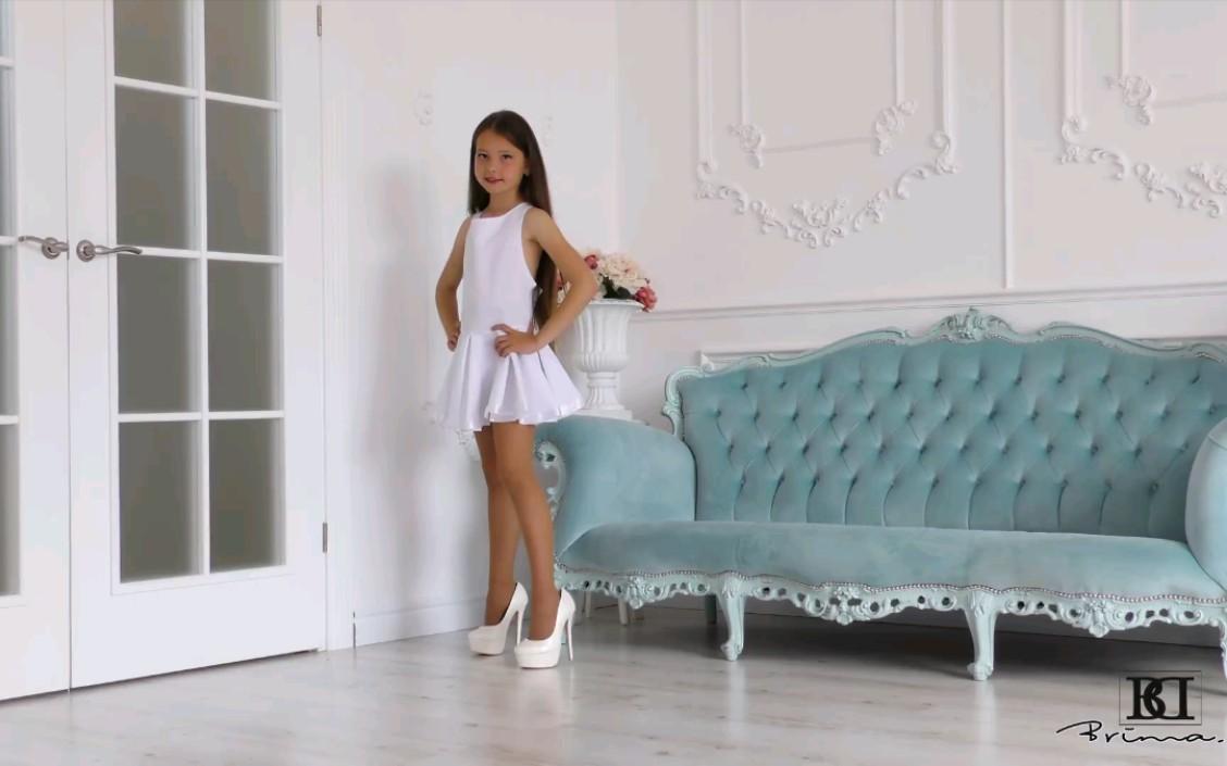 【Brima.d】童星Jennifer 白色裙装