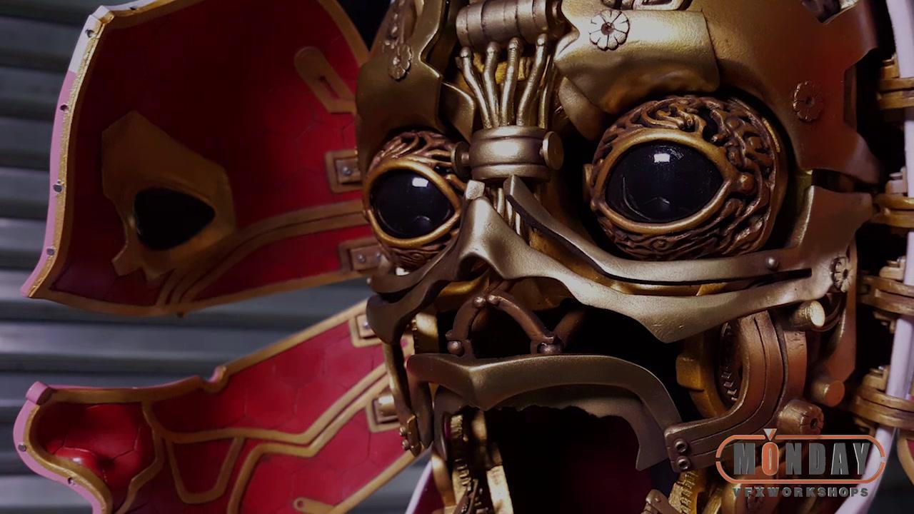 怪兽制造者纯手工打造攻壳机动队周边之机械姬