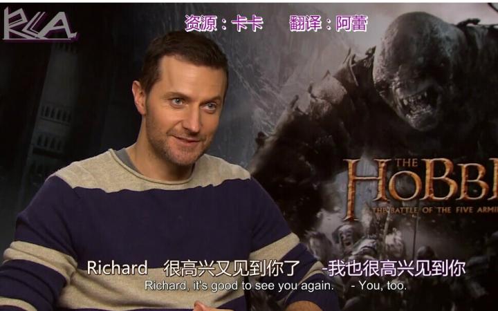 Richard Armitage TORN interview双语字幕