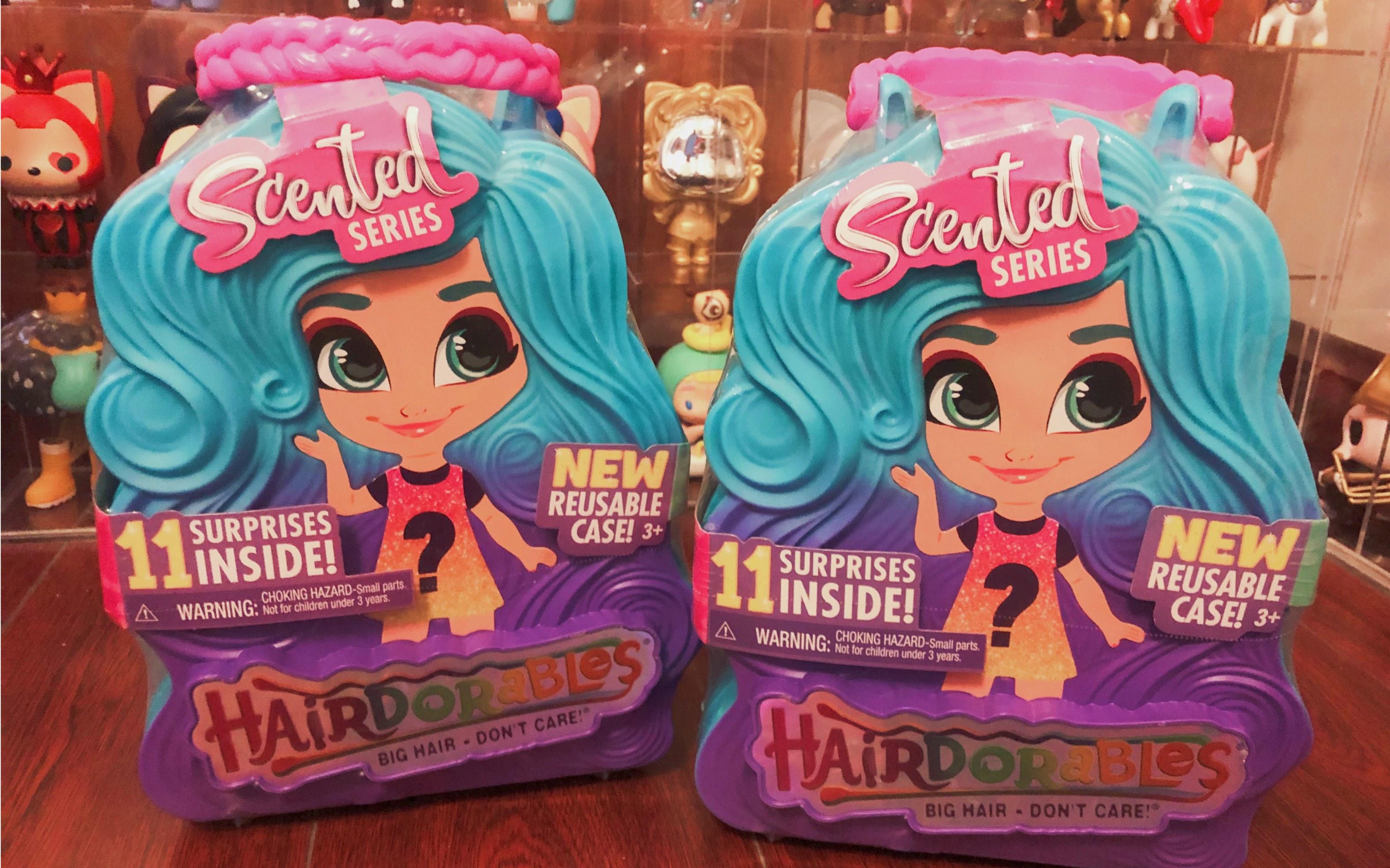 【拆盲盒】hairdorables美发娃娃四代第二拆!图片