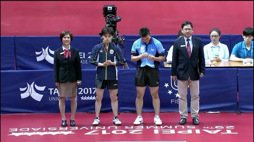 森园政崇vs陈建安 17台北世大运男单决赛 Table Tennis Men's Single Final
