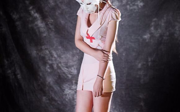 护士系列����_蒙面系列 性感护士(模特) 主题设计 单车音乐 活动策划 谷小松