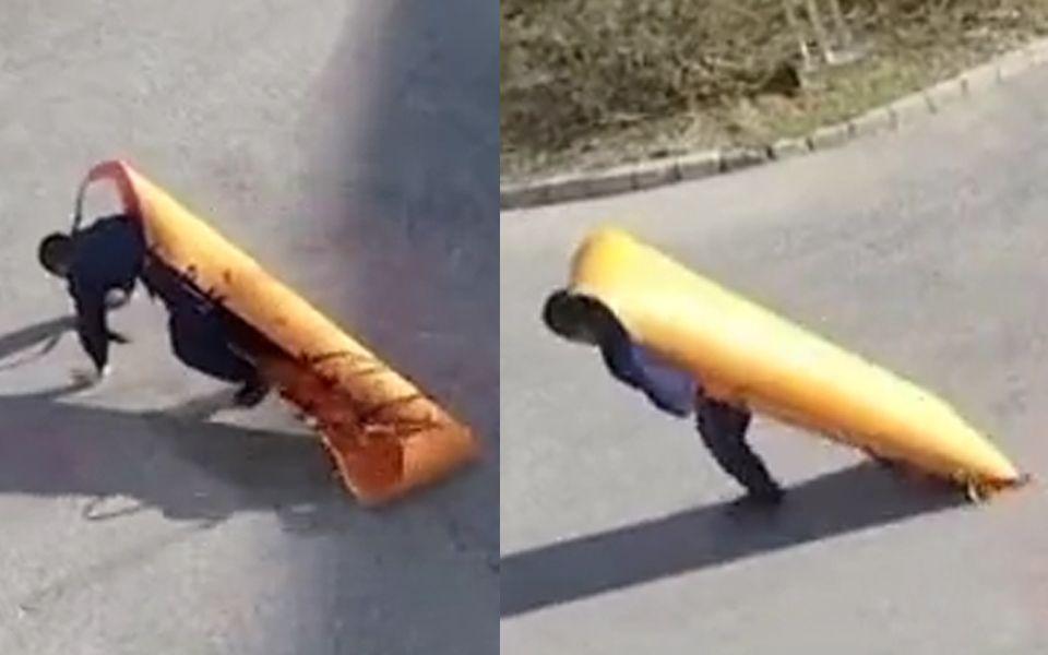 消防队长被绑成粽子扮伤员,警铃一响只留他在风中凌乱