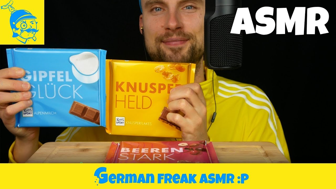 【german freak】助眠eating Ritter SPORT XXL巧克力棒-GF助眠(2019年12月7日4时25分)